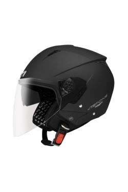 Astone 205 Matte Black (Open Face Helmet)