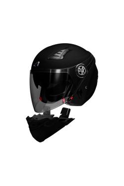 Astone 610 Flat Black (Open Face Helmet)