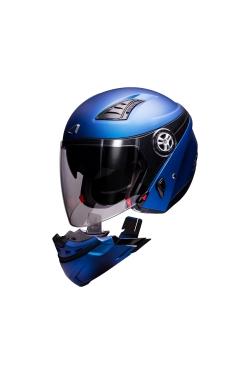 Astone 610 Matte Blue (Open Face Helmet)