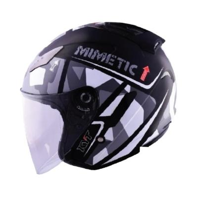 KYT Hellcat Mimetic Grey (Open Face Helmet)