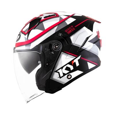 KYT NFJ Espagaro (Open Face Helmet)
