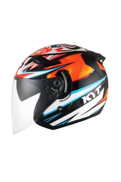 KYT Venom Axel Basani (Open Face Helmet)