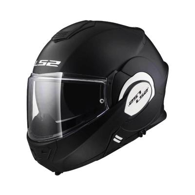 LS2 Valiant FF399 Matte Black (Flip Up Helmet)