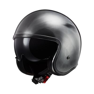 LS2 Spitfire OF599 Chrome Titanium (Open Face Helmet)