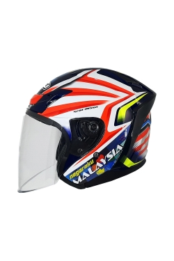 MHR OF622 Beatz Merdeka Edition (Open Face Helmet)