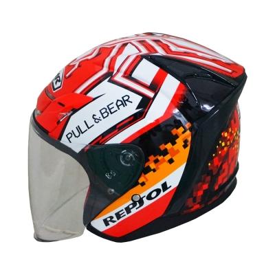 MHR OF622 Beatz Repsol (Open Face Helmet)