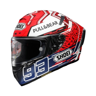 Shoei X-Spirit 3 Marquez 5 TC1 Red White (Full Face Helmet)