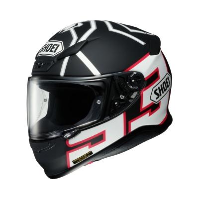 Shoei Z7 Marquez Black Ant TC5 Black White (Fullface Helmet)