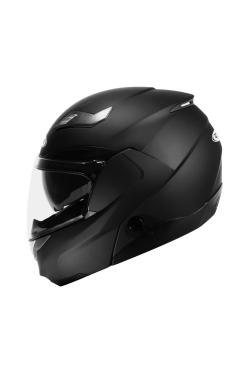 Zeus ZS 3100 Matte Black (Flip Up Helmet)