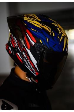 PRE-ORDER Zeus ZS 613 Merdeka (2 In 1 Helmet)