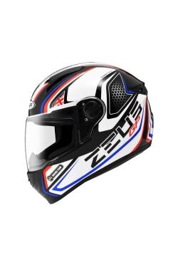 Zeus ZS 811 Black AL3 Blue (Full Face Helmet)