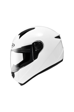 Zeus ZS 811 Solid White (Full Face Helmet)