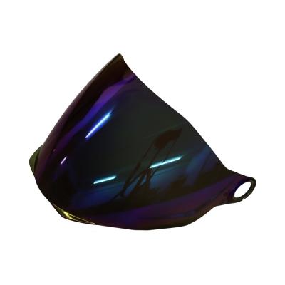 Zeus ZS 613 & Astone 205 Iridium Rainbow Visor